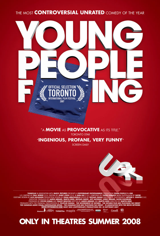 Young People Fucking Poster #1