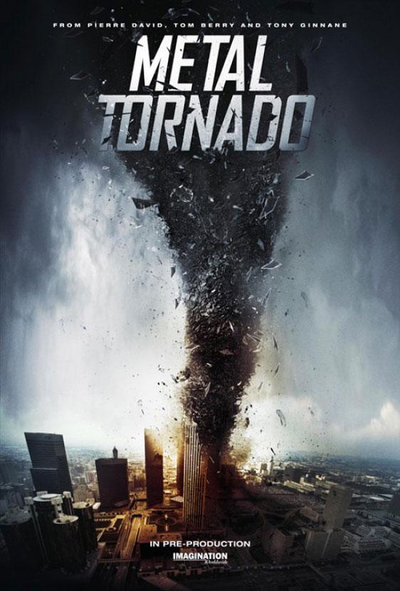 Metal Tornado Poster