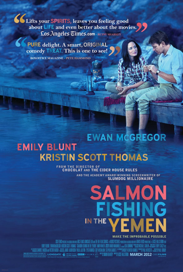 Salmon Fishing in the Yemen Poster #2