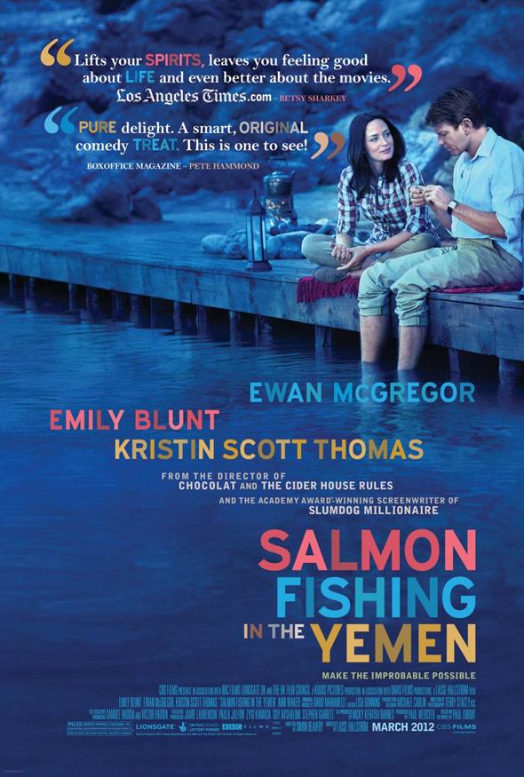 Salmon Fishing in the Yemen Poster #2