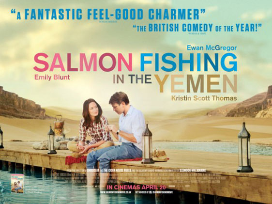 Salmon Fishing in the Yemen Poster #1
