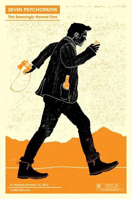 Seven Psychopaths Poster #10