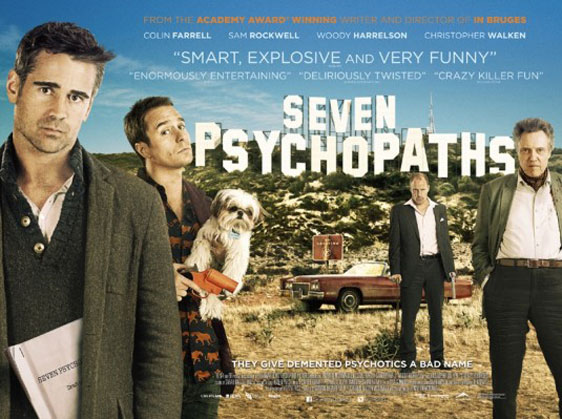 Seven Psychopaths Poster #16