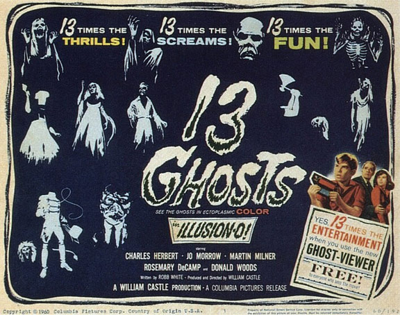 13 Ghosts Poster #1