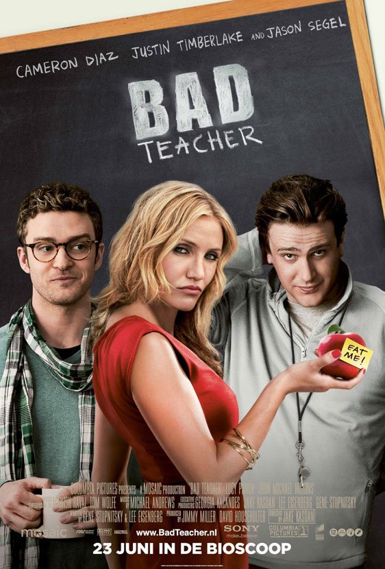 Bad Teacher Poster #2