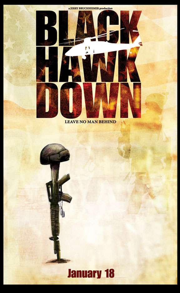 Black Hawk Down Poster #2