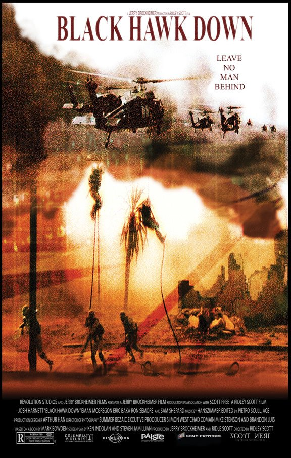 Black Hawk Down Poster #3