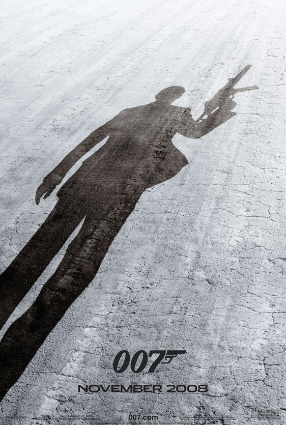 Quantum of Solace Poster #2