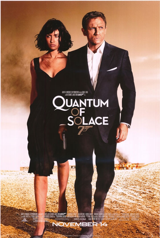 Quantum of Solace Poster #4
