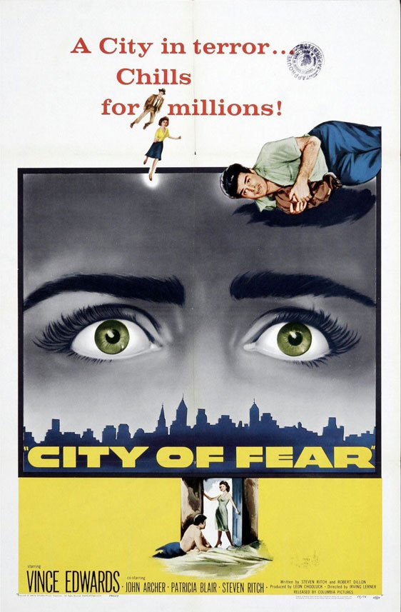 City of Fear Poster #1