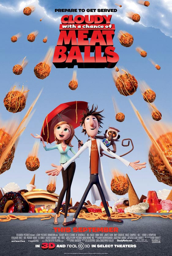 Cloudy with a Chance of Meatballs Poster #4