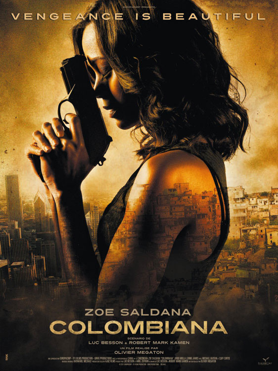 Colombiana Poster #2