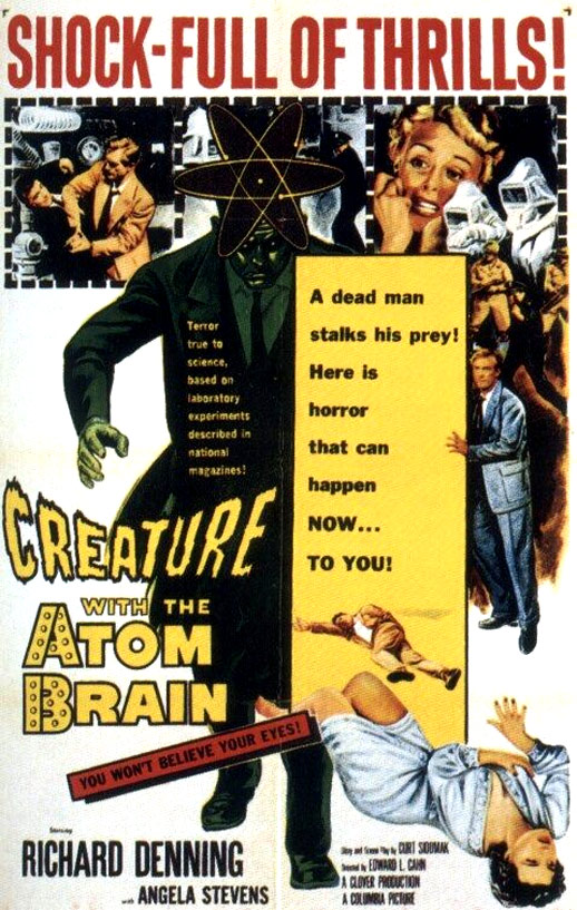 Creature with the Atom Brain Poster #1