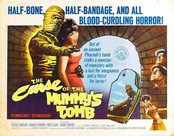 The Curse of the Mummy's Tomb Poster #2