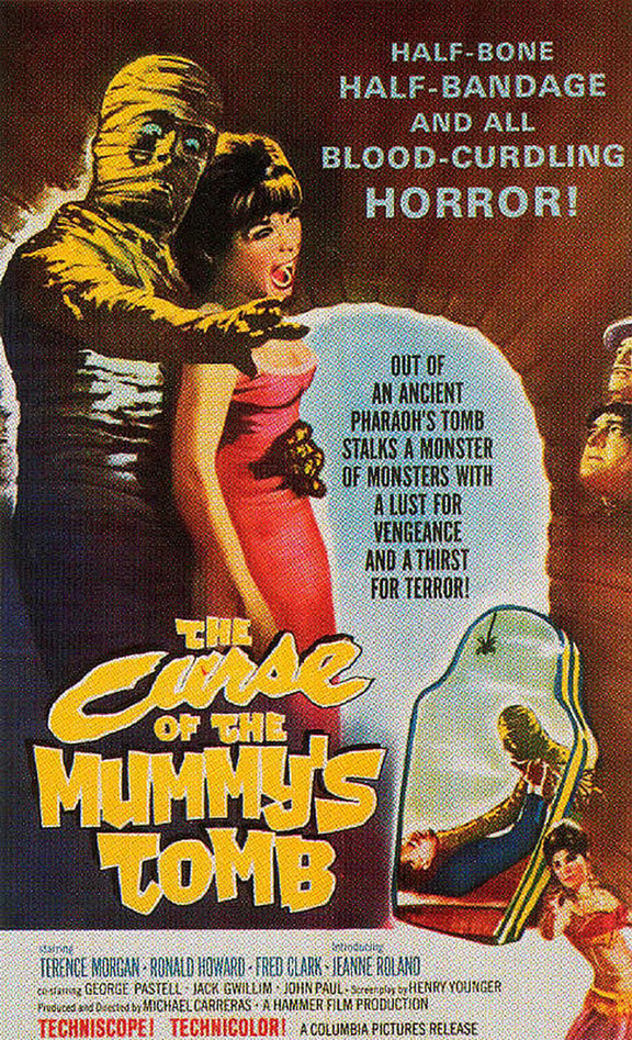 The Curse of the Mummy's Tomb Poster #1