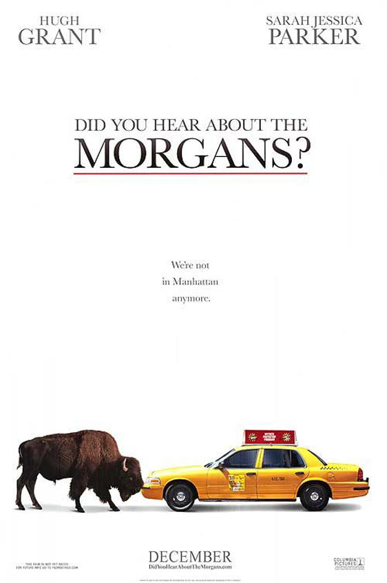 Did You Hear About the Morgans? Poster