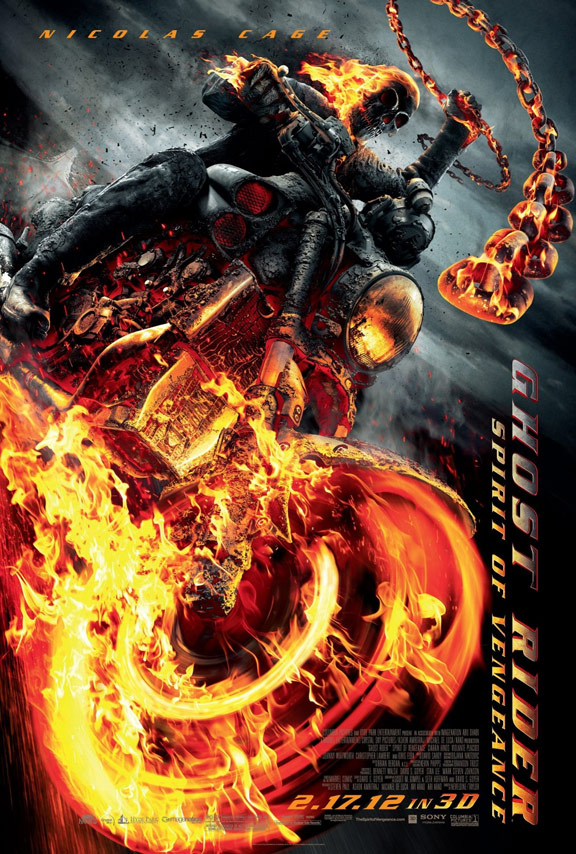 Ghost Rider: Spirit of Vengeance Poster #2