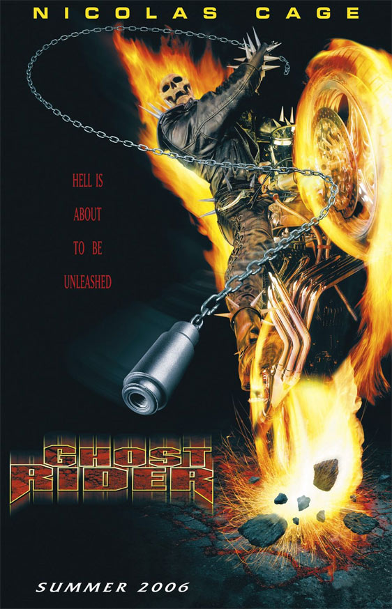 Ghost Rider Poster #4