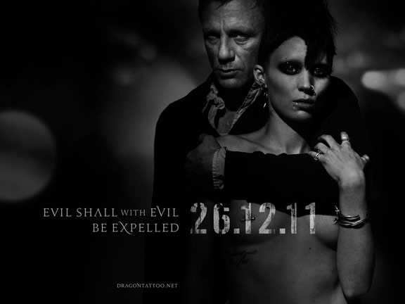 The Girl with the Dragon Tattoo Poster #2