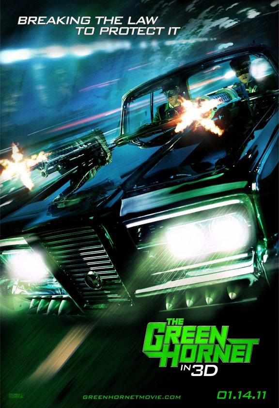The Green Hornet Poster #2