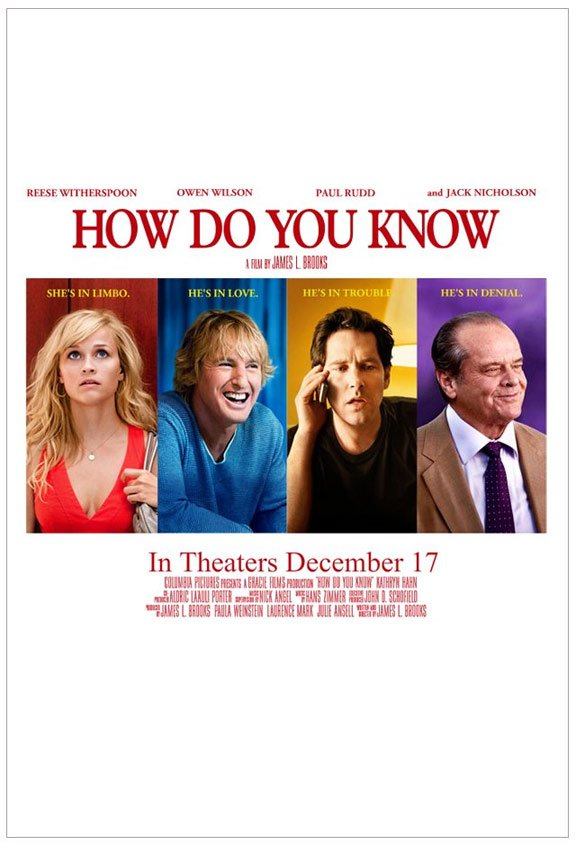 How Do You Know Poster
