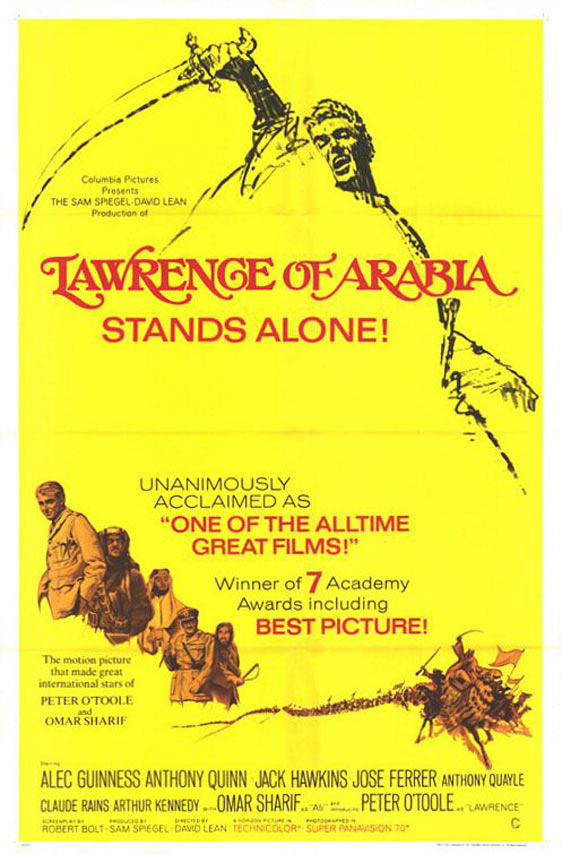 Lawrence of Arabia Poster #2