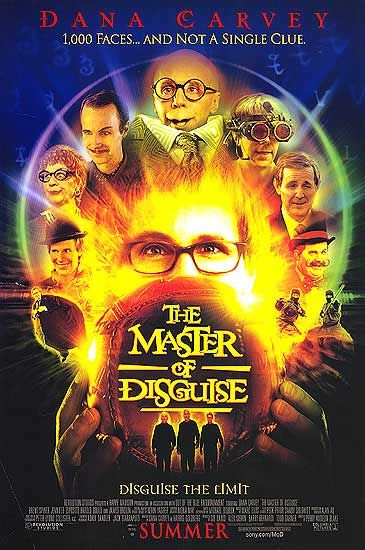 The Master of Disguise Poster