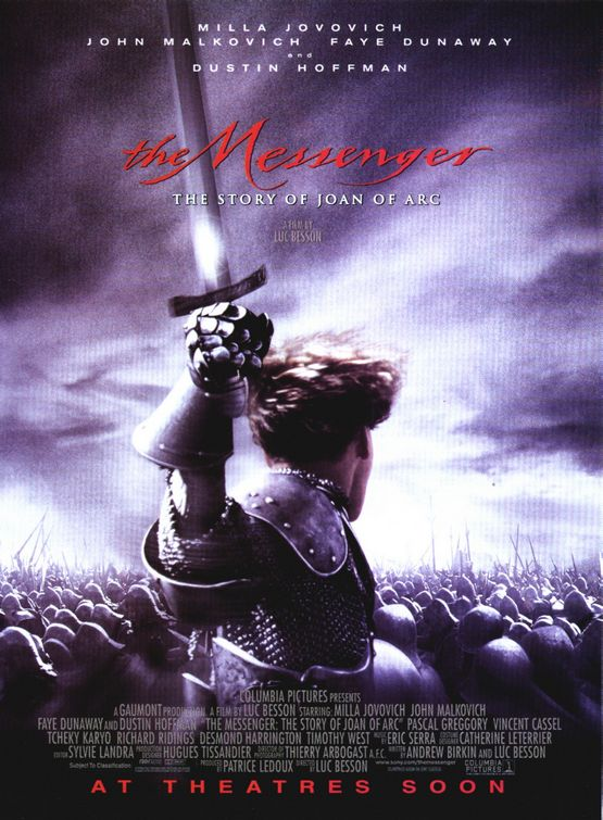 The Messenger: The Story of Joan of Arc Poster #1