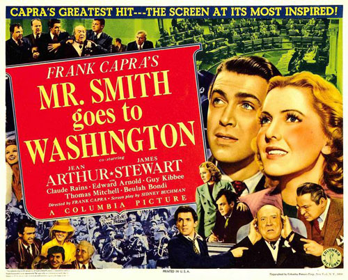 Mr Smith Goes To Washington Poster #1