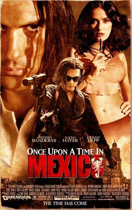 Once Upon a Time in Mexico Poster #1