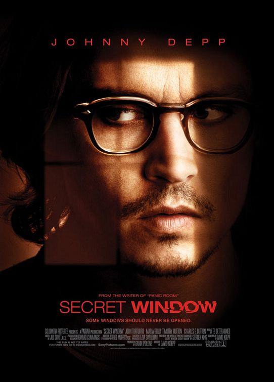 Secret Window Poster #1