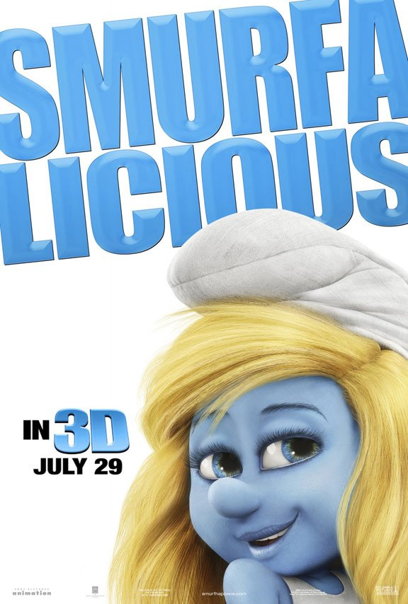 The Smurfs Poster #9