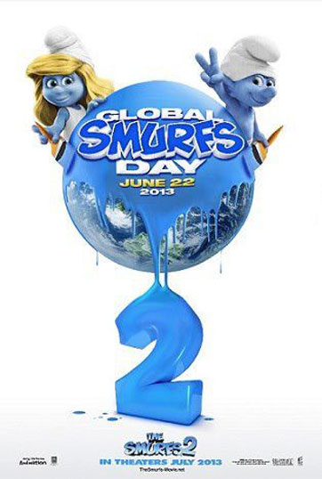 The Smurfs 2 Poster #4