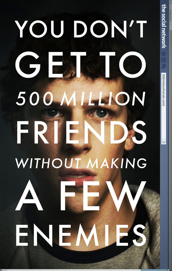 The Social Network Poster #1