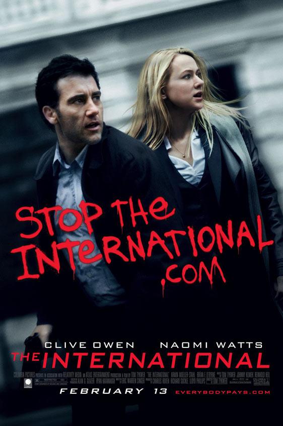The International Poster #4