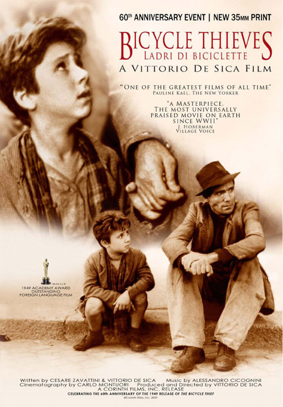 The Bicycle Thief Poster #1