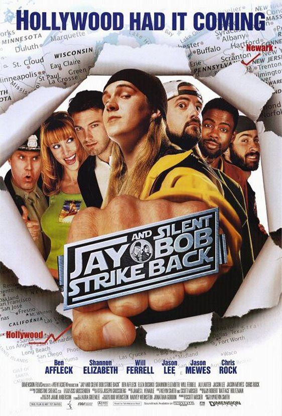 Jay and Silent Bob Strike Back Poster #1