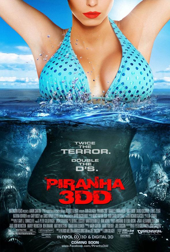 Piranha 3DD Poster #2