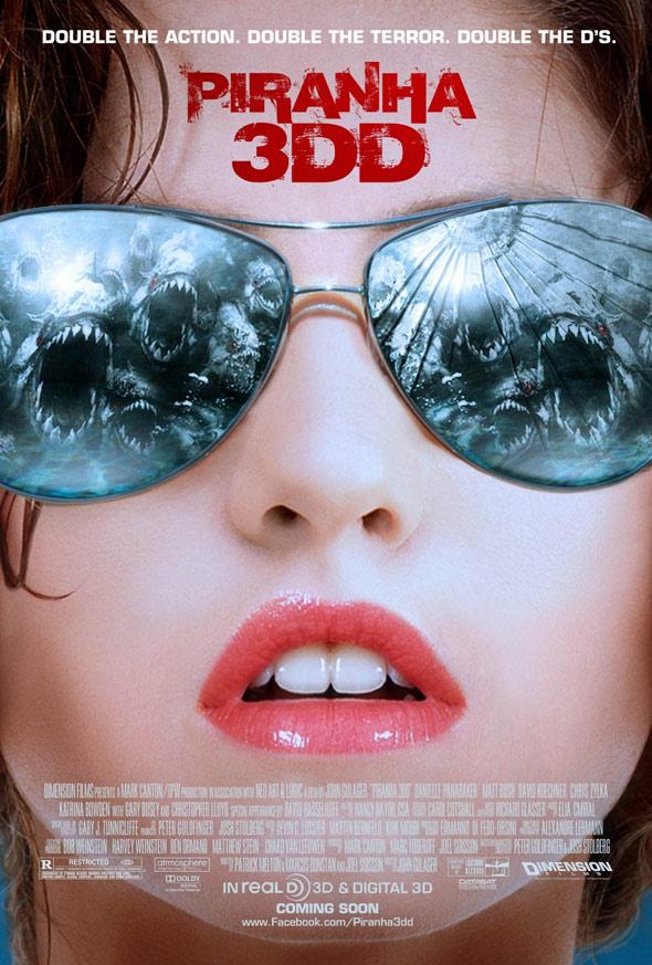 Piranha 3DD Poster #3