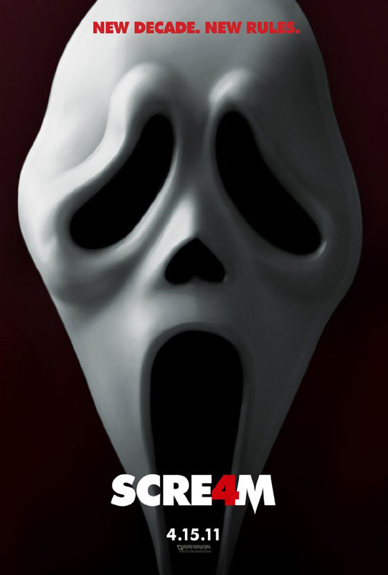 Scream 4 Poster #1