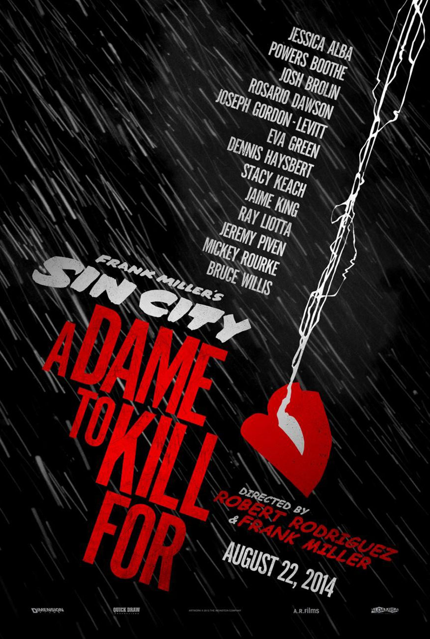 Sin City: A Dame To Kill For (2014) Posters - TrailerAddict