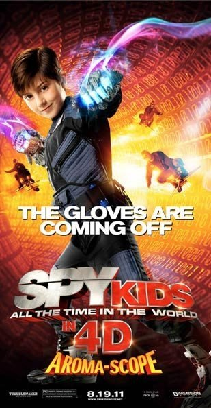 Spy Kids: All the Time in the World Poster #5