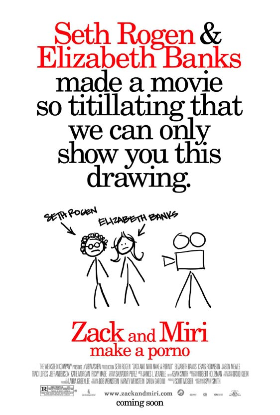 Zack and Miri Make a Porno Poster #2