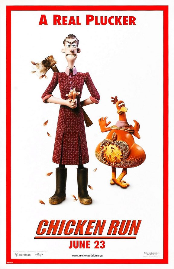 Chicken Run Poster #2