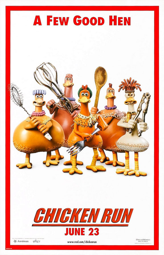 Chicken Run Poster #6