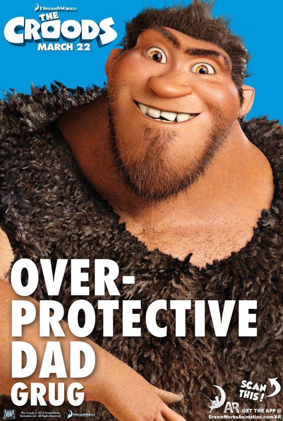 The Croods Poster #3