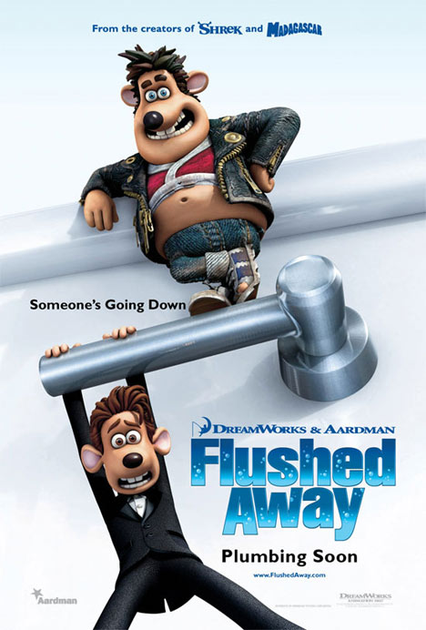 Flushed Away Poster #1