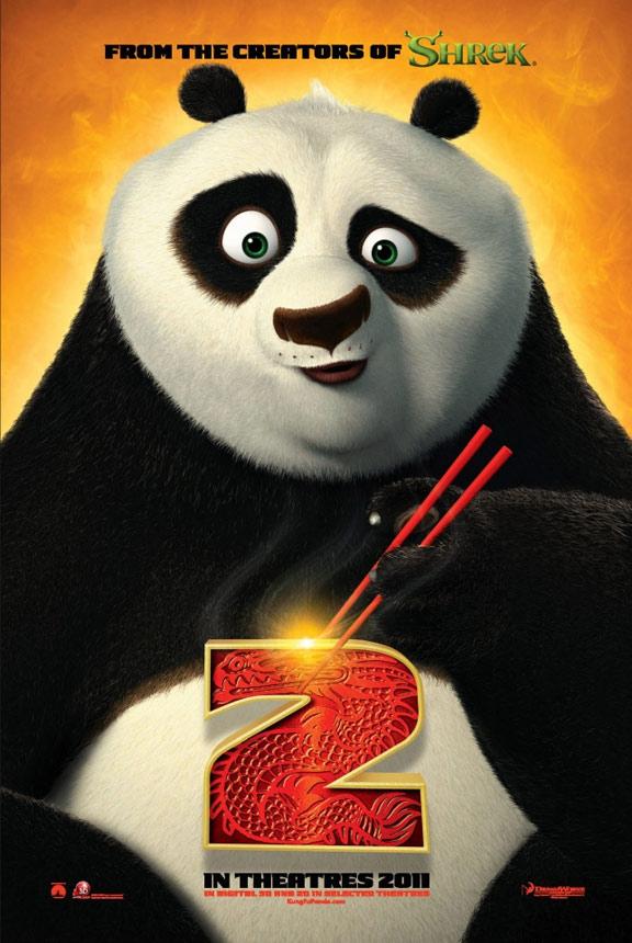 Kung Fu Panda 2 Poster #2
