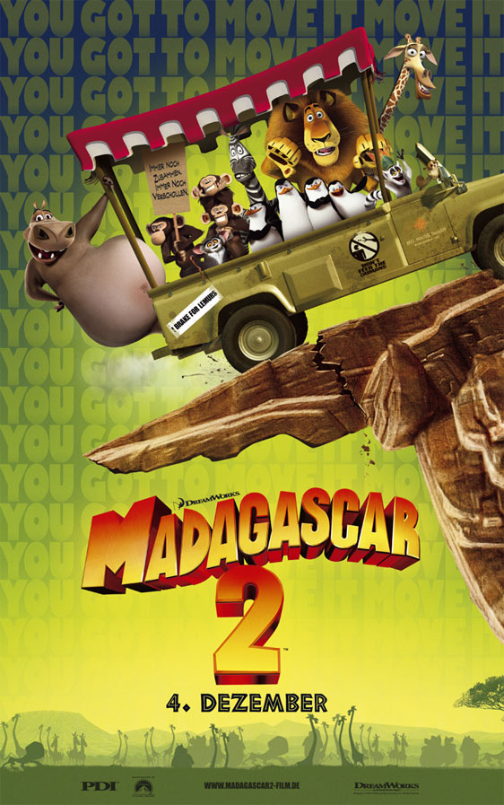 Madagascar: Escape to Africa Poster #4