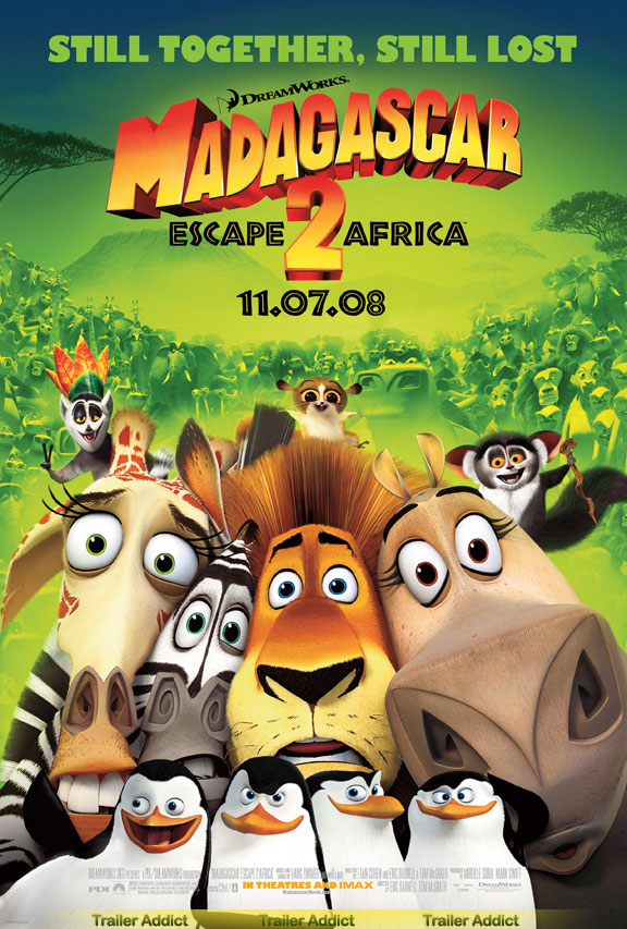 Madagascar: Escape to Africa Poster #6
